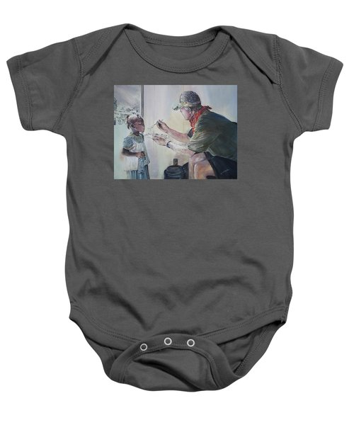 Food For Thought Baby Onesie