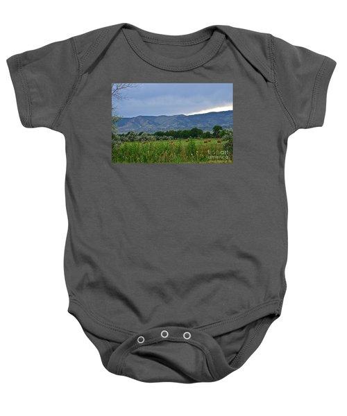 Foothills Of Fort Collins Baby Onesie