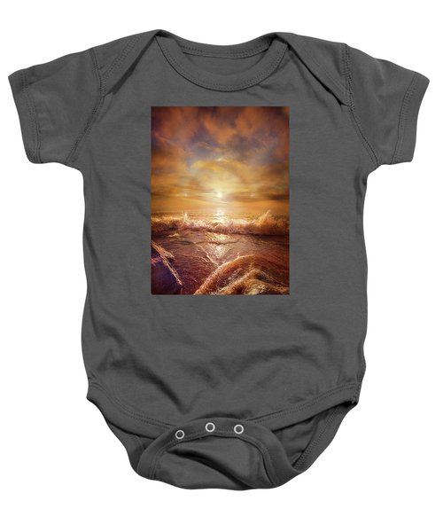 For Everything Give Thanks Baby Onesie