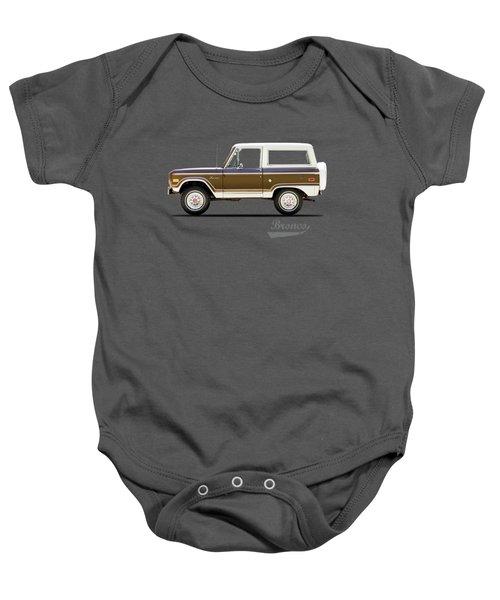 Ford Bronco Ranger 1976 Baby Onesie