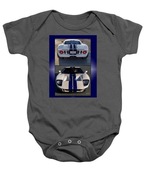 Ford Gt Baby Onesie