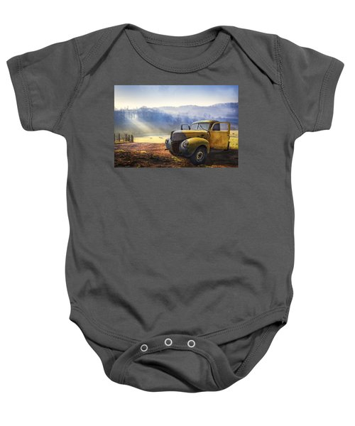 Ford In The Fog Baby Onesie