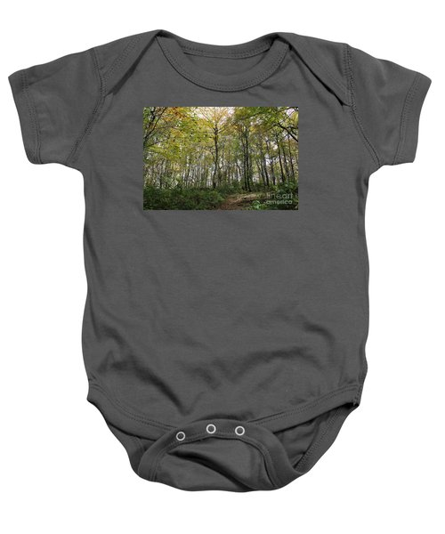 Forest Canopy Baby Onesie