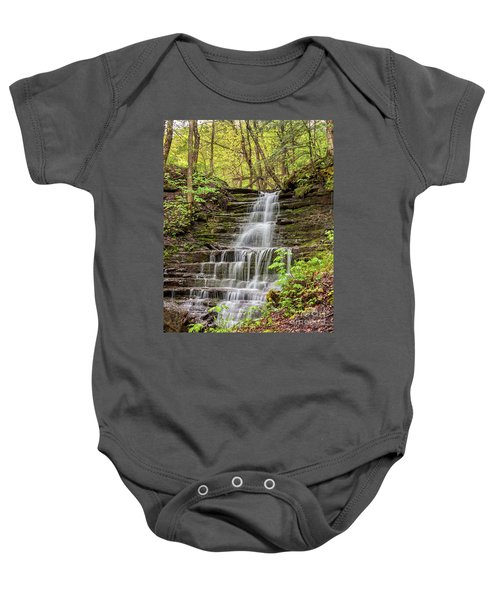 Forest Cascade Baby Onesie