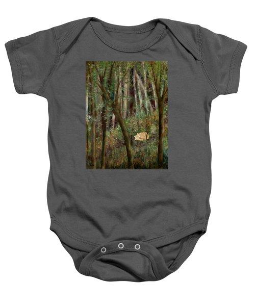 Forest Cat Baby Onesie