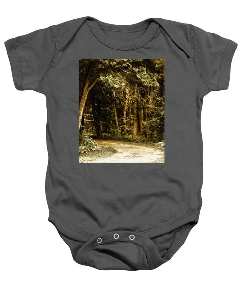Forest Curve Baby Onesie