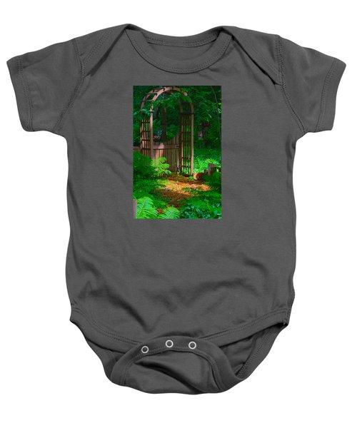Forest Gateway Baby Onesie