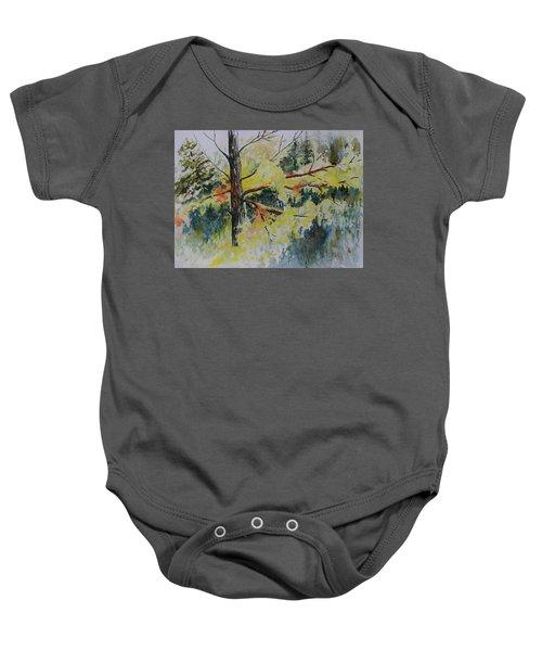 Forest Giant Baby Onesie