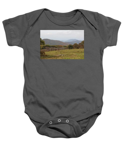 Forest Highlands Baby Onesie
