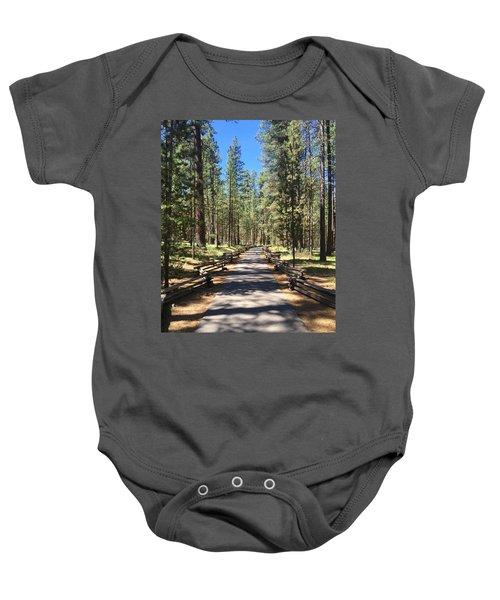 Forest Path Baby Onesie