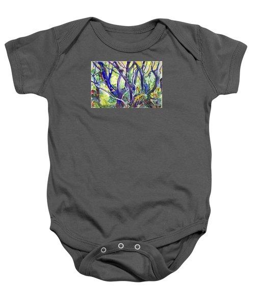 Forest Rainbow Baby Onesie