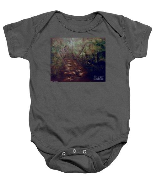 Forest Rays Baby Onesie