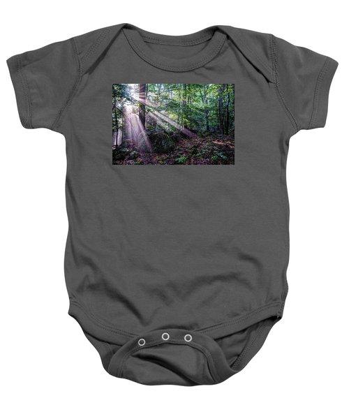 Forest Sunbeams Baby Onesie