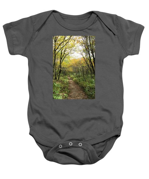 Forest Trail Baby Onesie