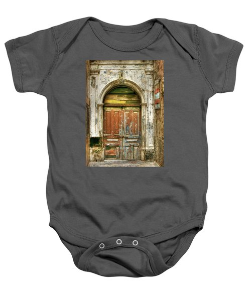 Forgotten Doorway Baby Onesie