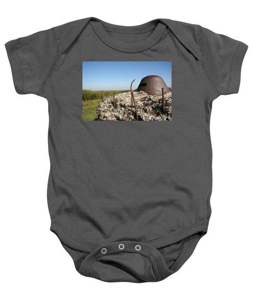 Baby Onesie featuring the photograph Fort De Douaumont - Verdun by Travel Pics