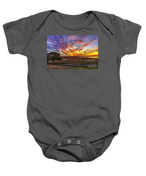 Enlightened Tree Baby Onesie