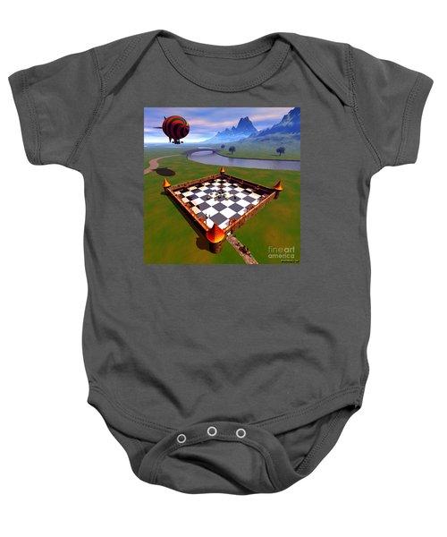 Fort Nuggets 1 Baby Onesie