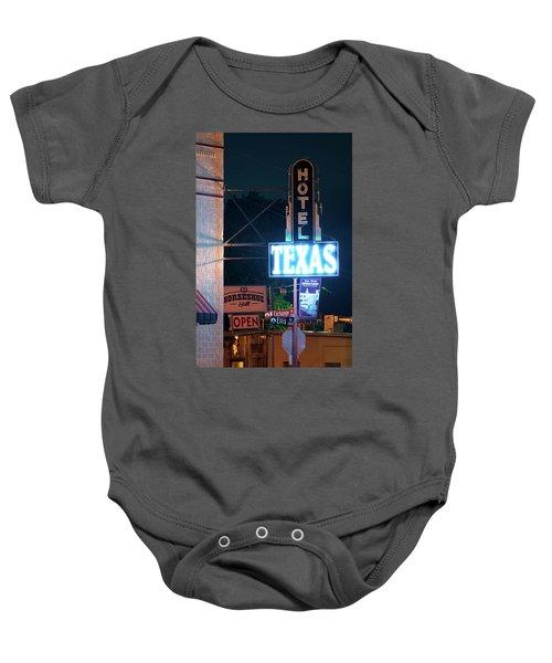 Fort Worth Hotel Texas 6616 Baby Onesie