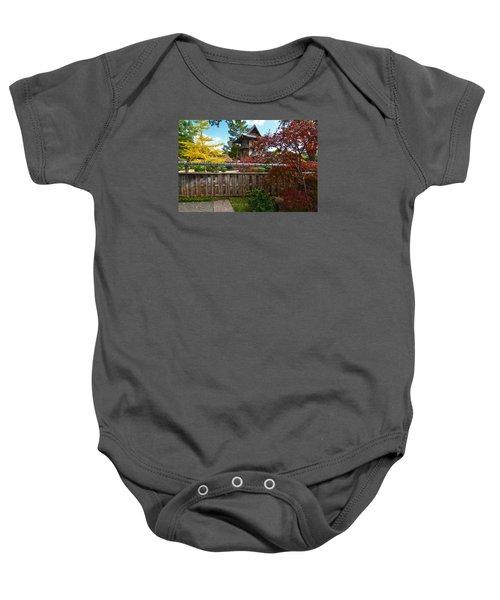 Fort Worth Japanese Gardens 2771a Baby Onesie