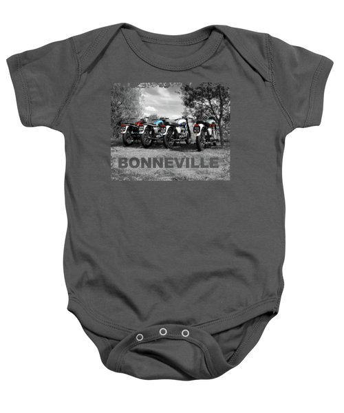 Four Bonnevilles Baby Onesie