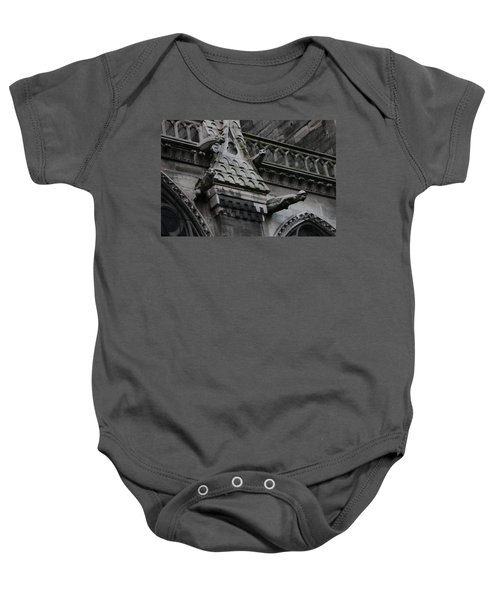 Four Gargoyles On Notre Dame North Baby Onesie