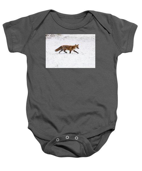 Fox 3 Baby Onesie