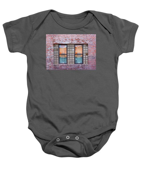 Fracture Reflection Baby Onesie