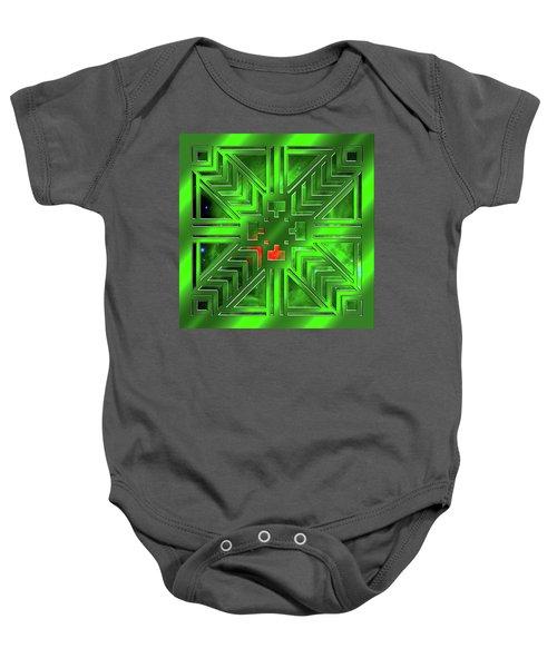 Frank Lloyd Wright Design Baby Onesie