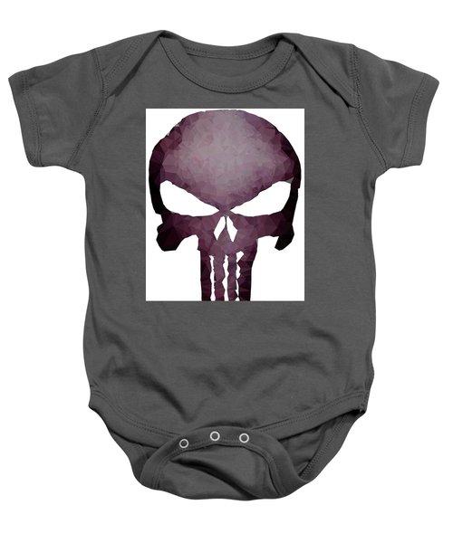 Frank Skull Baby Onesie