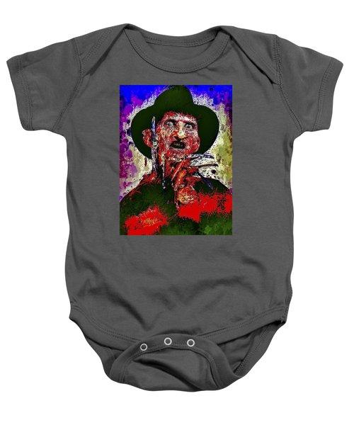 Freddy Krueger Baby Onesie