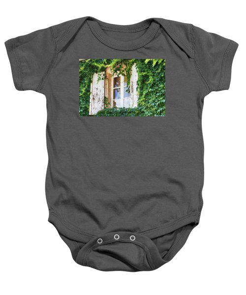 French Window In Provence Baby Onesie