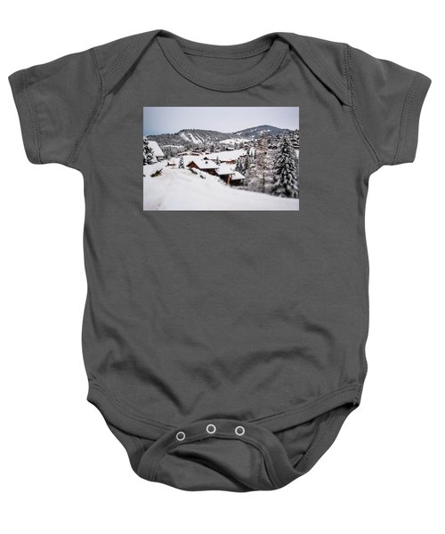 From A Distance- Baby Onesie