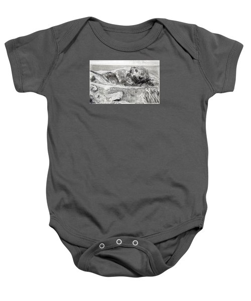 From My Window A Clump Of Trees Baby Onesie