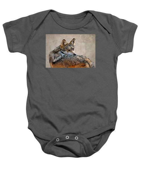 From Out Of The Mist Baby Onesie