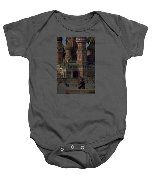 From Russia With Love Baby Onesie