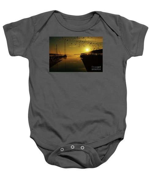 From Shadows Baby Onesie