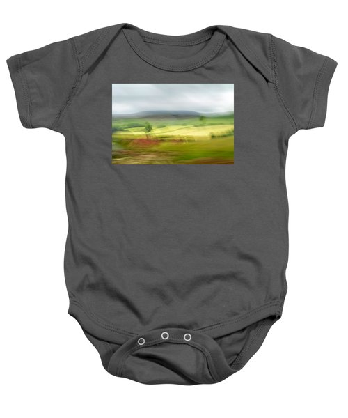 heading north of Yorkshire to Lake District - UK 1 Baby Onesie