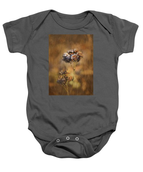 Frosted Bloom Baby Onesie