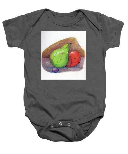 Fruit Still 34 Baby Onesie