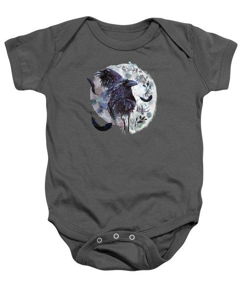 Full Moon Fever Dreams Of Velvet Ravens Baby Onesie