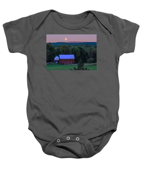 Full Moon From High Street Baby Onesie