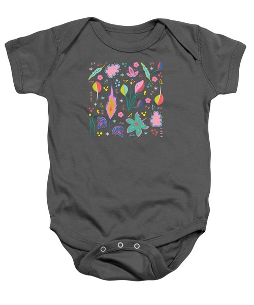 Fun In The Garden Baby Onesie