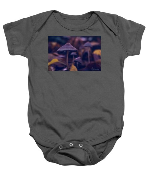 Fungi World Baby Onesie