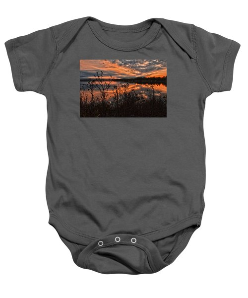 Gainesville Sunset 2386w Baby Onesie