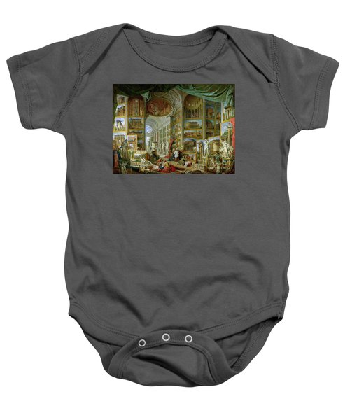 Gallery Of Views Of Ancient Rome Baby Onesie