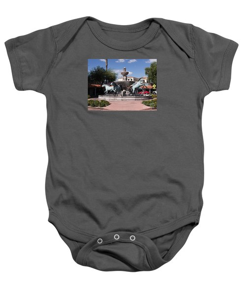 Horses With Vitality And Charm Baby Onesie