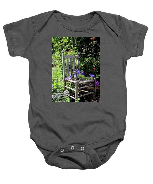 Garden Chair Baby Onesie