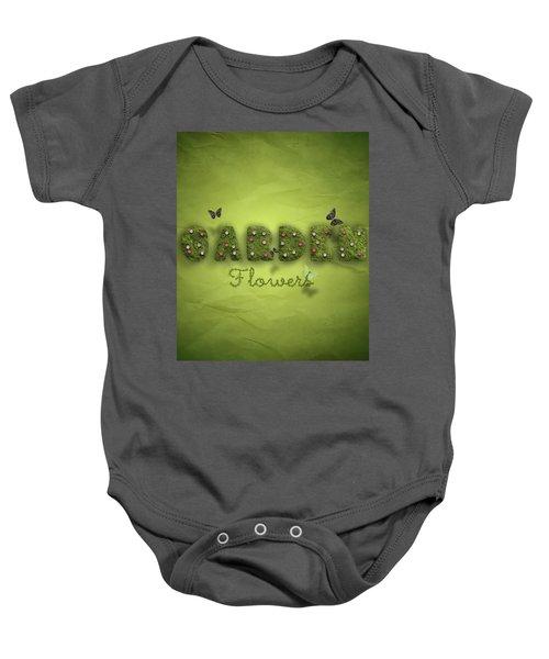 Garden Baby Onesie by La Reve Design