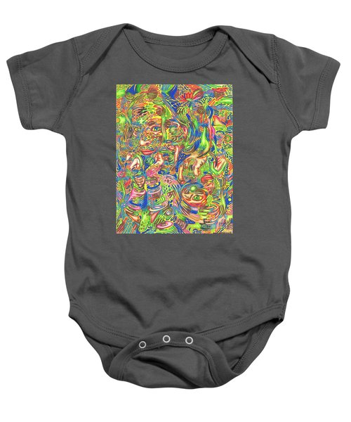 Garden Of Reflections Baby Onesie